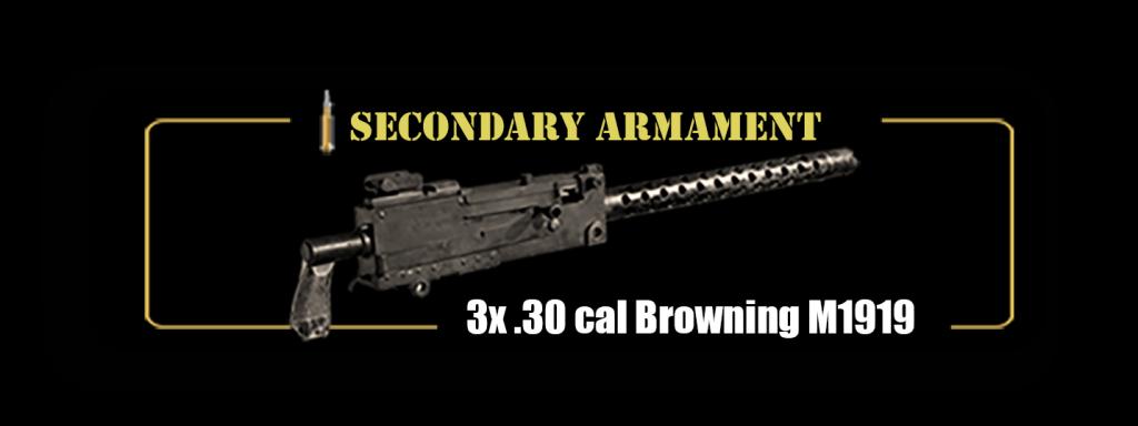 Secondary Armanment